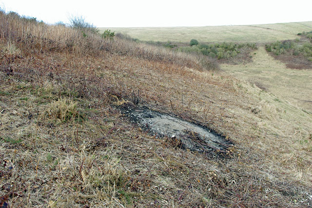 Castle Hill NNR - scrub clearance by Robin Webster
