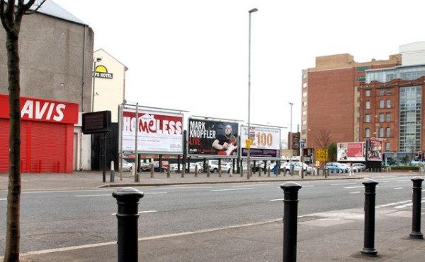 Car park, Hope Street, Belfast © Albert Bridge cc-by-sa/2 ...