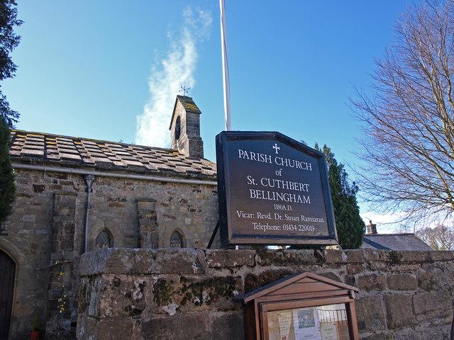 St. Cuthbert's Church, Bellingham © wfmillar :: Geograph Britain