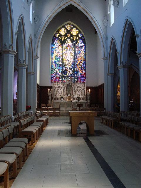 Interior Of St Augustine S Galway City 169 Louise Price Geograph Ireland