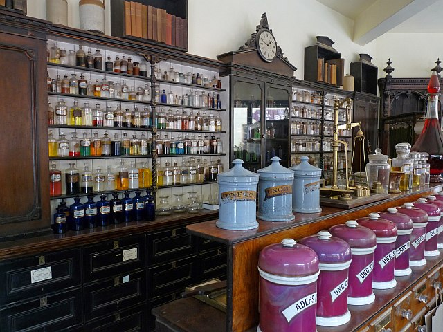 The Pharmacy At Blists Hill Victorian Robin Drayton