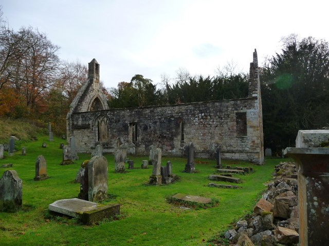 The Old Kirk At Temple 169 Ronnie Leask Cc By Sa 2 0
