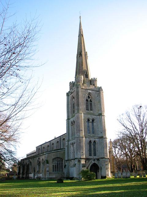 St Leonard's church in Leverington © Evelyn Simak cc-by-sa/2.0