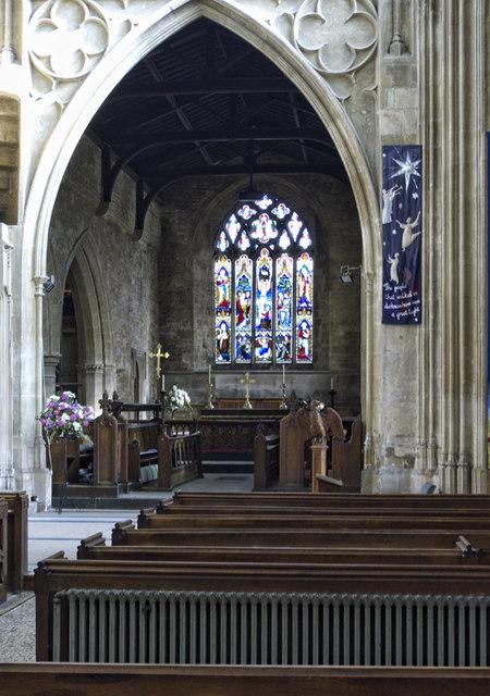 The Chancel St Mary S Church Chipping 169 Cameraman Cc