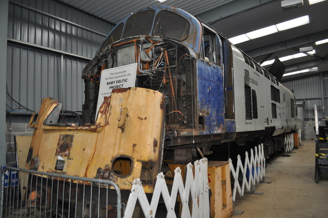 Baby Deltic Project Ashley Dace Geograph Britain And