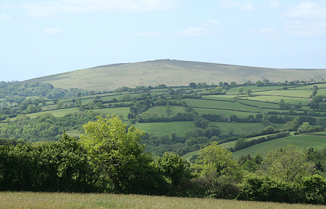 South Brent: towards Ugborough Beacon