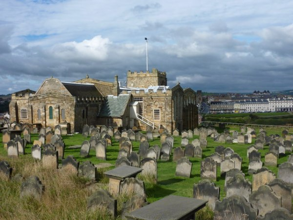 St. Mary's church and churchyard, Whitby © pam fray cc-by ...