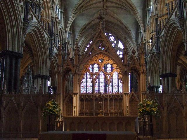 Altar St Hughs Choir Lincoln JHannan Briggs Cc By