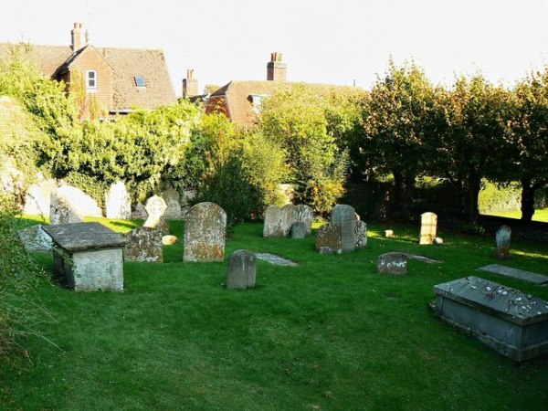 Churchyard, St Mary's Church,... © Brian Robert Marshall ...