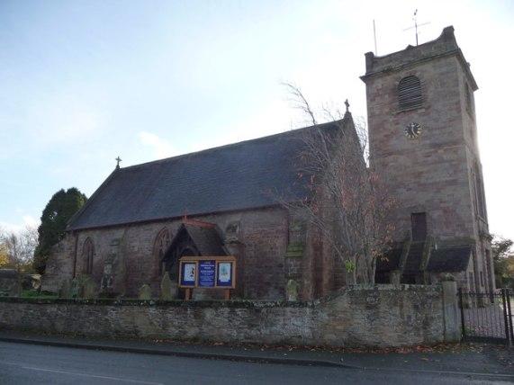 St. Mary's church, Westbury, Shropshire © Jeremy Bolwell