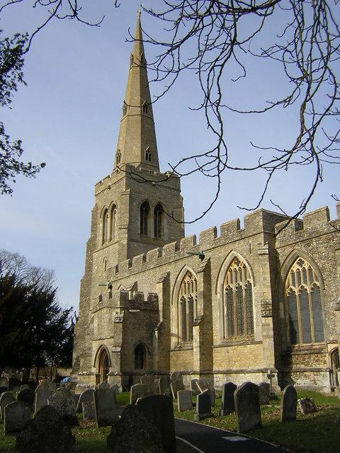 Colmworth, church of St Denys © Christopher Hilton :: Geograph