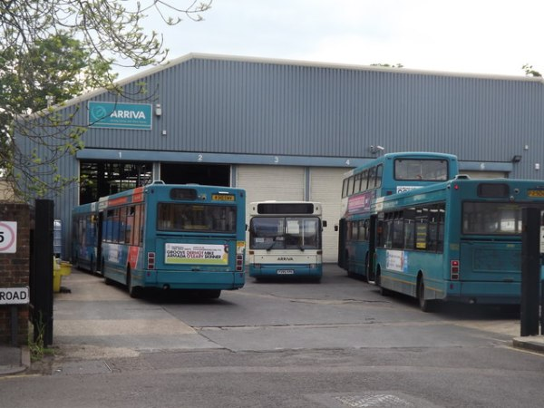 Guildford Bus Depot 169 Colin Smith Geograph Britain and