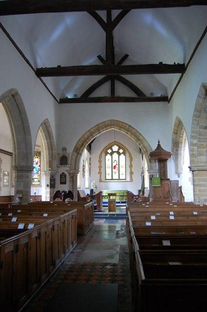 Interior Chiddingly Church Julian P Guffogg Geograph