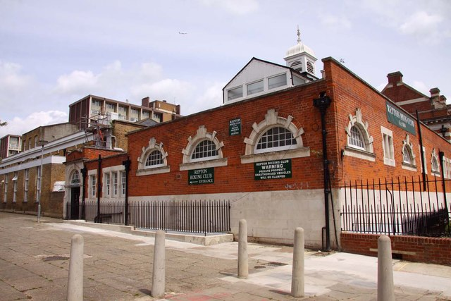 Image result for Repton Boxing Club in Bethnal Green, London.