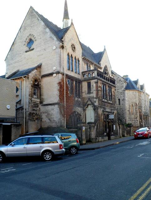 Stroud Spiritualist Church, Lansdown, © Jaggery cc-by-sa/2.0