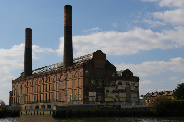 Former Lots Road Power Station From The Christopher