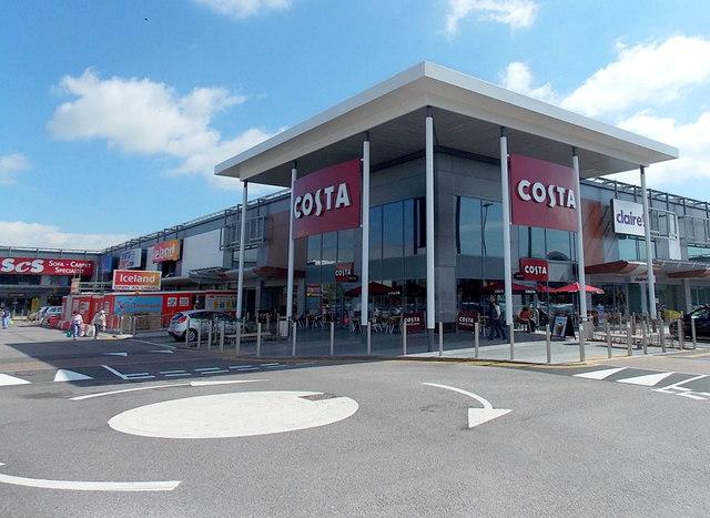 Costa Newport Retail Park Jaggery Geograph Britain