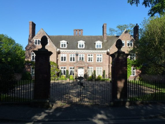 Leverington Hall on Church Road, © Richard Humphrey :: Geograph