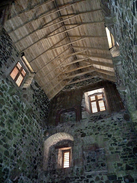 Inside The Restored Fatlips Castle 169 Walter Baxter Cc By