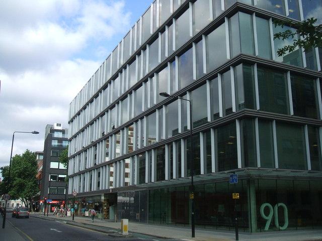 90 Tottenham Court Road 169 John M Geograph Britain And