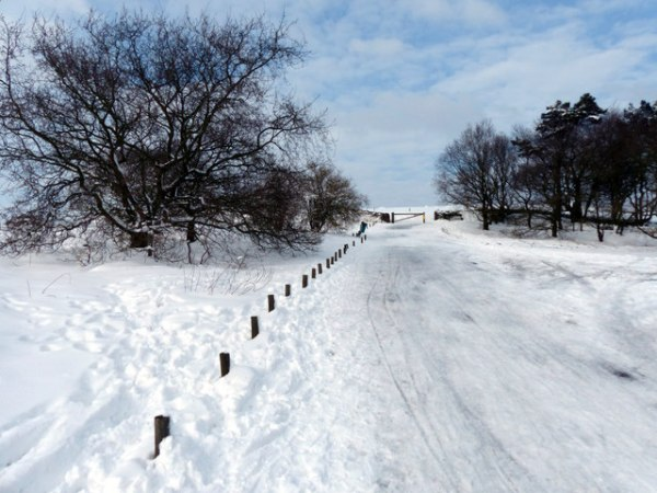 Snow covered road at Beacon Hill Country 169 Mat Fascione