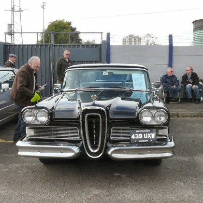 1958 ford cars » Edsel 439 UXW      Gerald England    Geograph Britain and Ireland Edsel 439 UXW