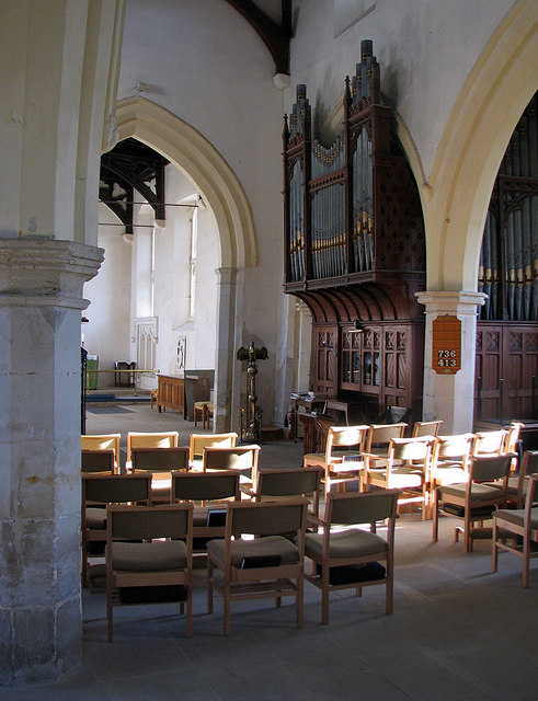 Dry Drayton: St Peter and St Paul - nave © John Sutton