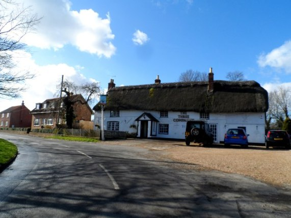 The Three Compasses pub, Upper Dean © Bikeboy :: Geograph Britain