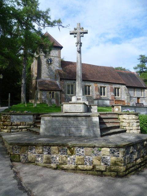 War memorial at St Giles the Abbot © Marathon :: Geograph
