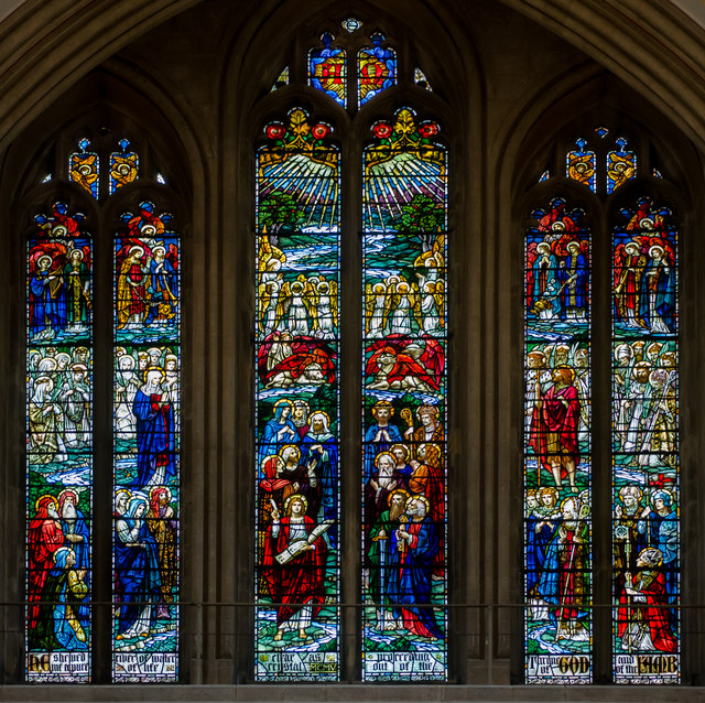 Stained Glass Window Wells Cathedral 169 Julian P Guffogg