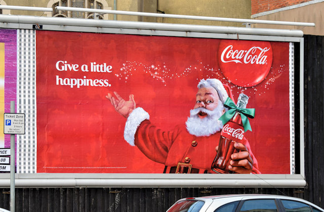Coca Cola Christmas Poster Belfast Albert Bridge