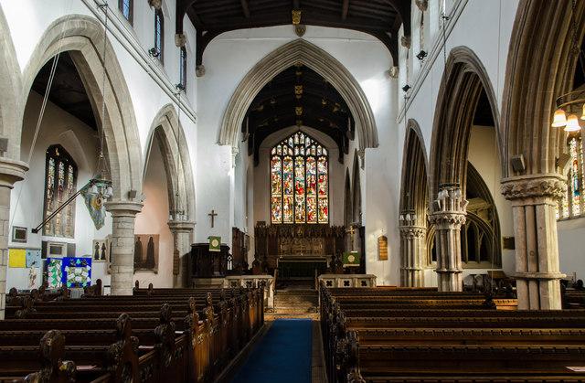 Interior All Saints Church Stamford Julian P Guffogg Cc By Sa20 Geograph Britain And