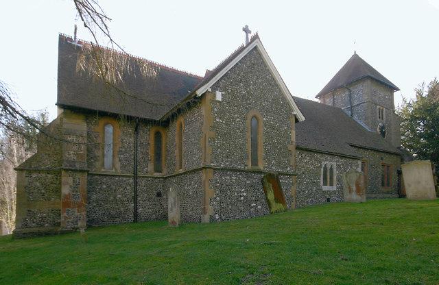 St Giles the Abbot, Farnborough (Kent) © David Kemp :: Geograph