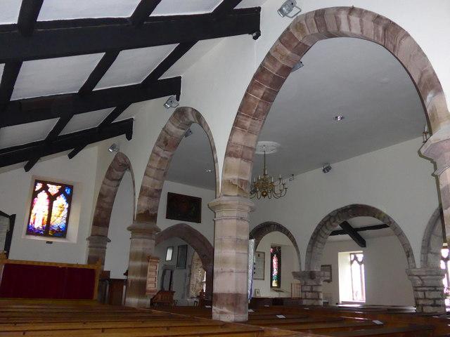Inside St Cuthbert, Aldingham (a) © Basher Eyre :: Geograph