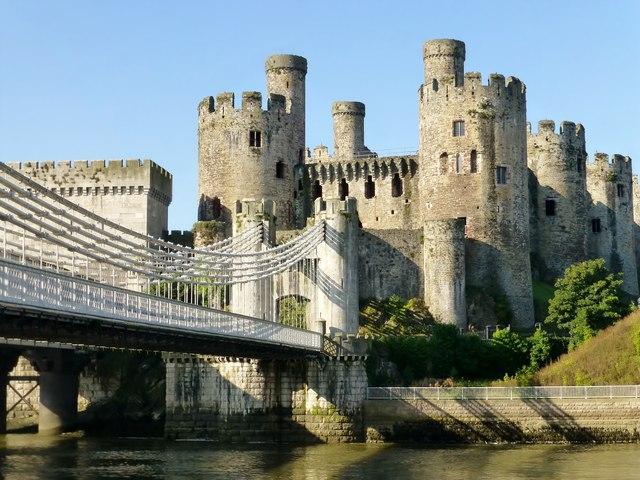 Conwy Castle And Conwy Suspension Bridge 169 Rude Health Cc