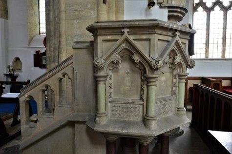 Felmersham, St. Mary's Church: The © Michael Garlick cc-by-sa