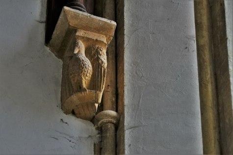 Felmersham, St. Mary's Church: The eagle © Michael Garlick
