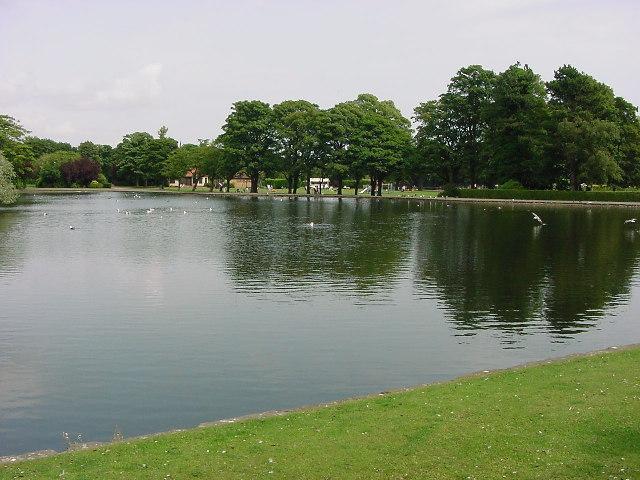 Kirkcaldy Beveridge Park Lake Kevin OKane Geograph Britain And Ireland