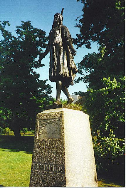 Pocahontas Statue Gravesend 169 Colin Smith Geograph