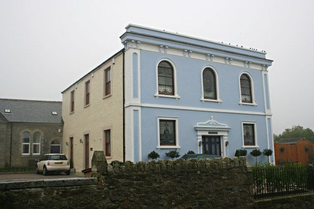 A converted Methodist chapel in Praze an Beeble, Cornwall.