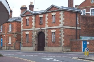 Bedford Prison. The old gate house to Bedford Prison.