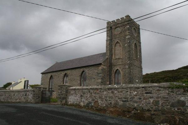 Inishkeel Parish Church, (C of I) Naran,... © Dr Neil ...