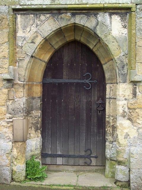 St John's Church, Allerston - Door © Maigheach-gheal :: Geograph