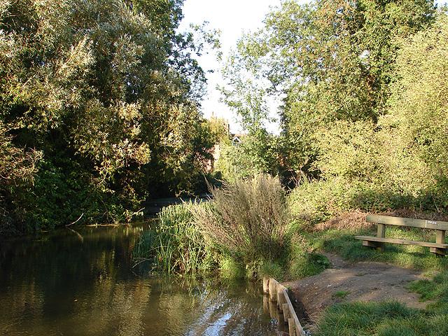 River Oughton At Oughtonhead Common John Lucas Cc By Sa
