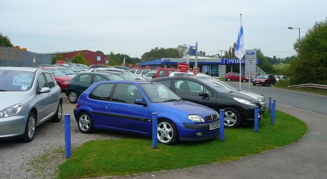 Car dealership, Ross-on-Wye