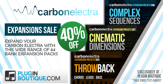 Carbon electra expansions 40 sale