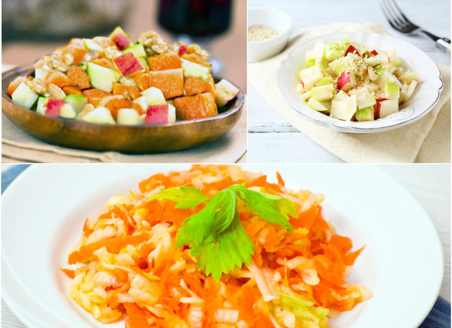 d31 postnyye salaty bez rastitelnogo masla depositphotos - Vegetable salads without oil: recipes with photos