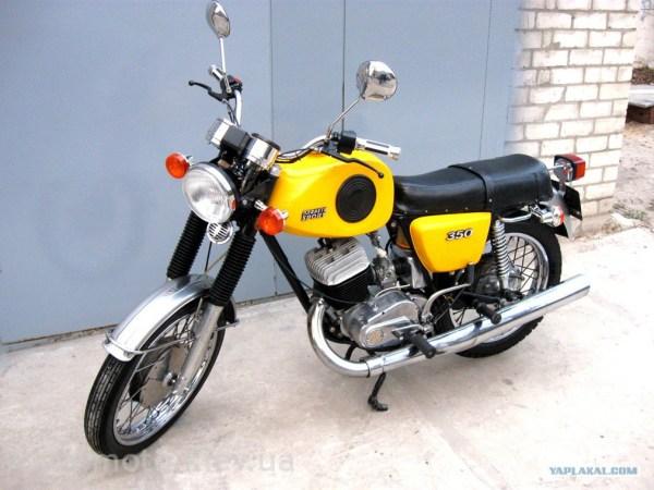 Красивые фото мотоциклов ИЖ - ЯПлакалъ