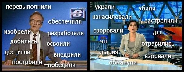 Новости тогда и сейчас