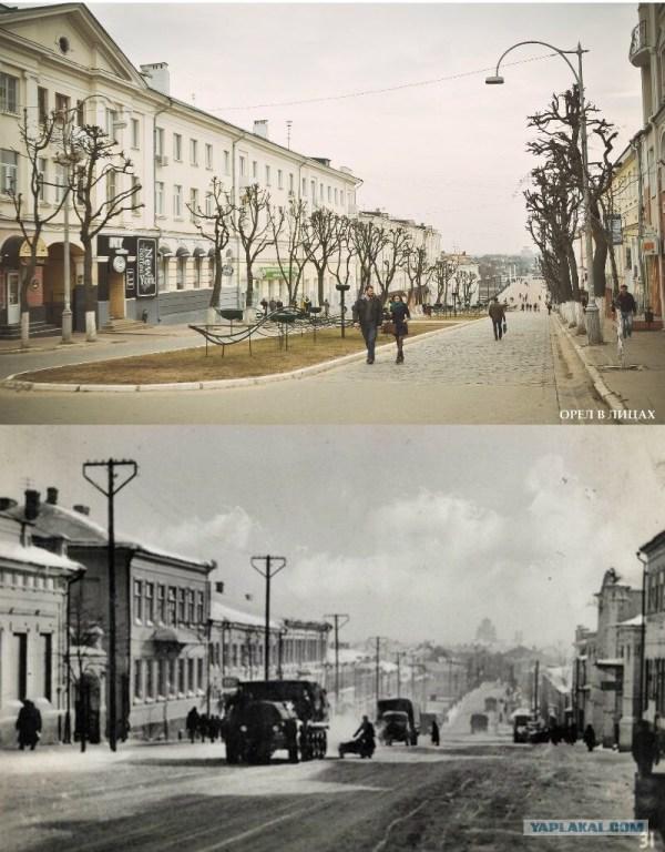 Исторические фото города Орла до и после 23 фото Hodor